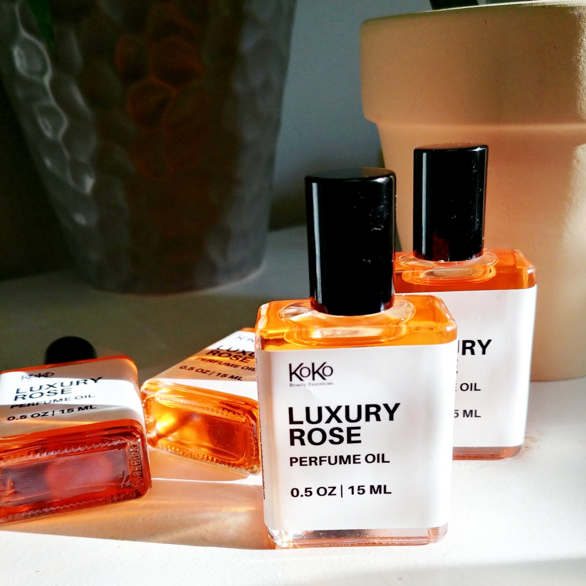 Luxury Rose Perfume Oil - KoKoBeautyEssentials