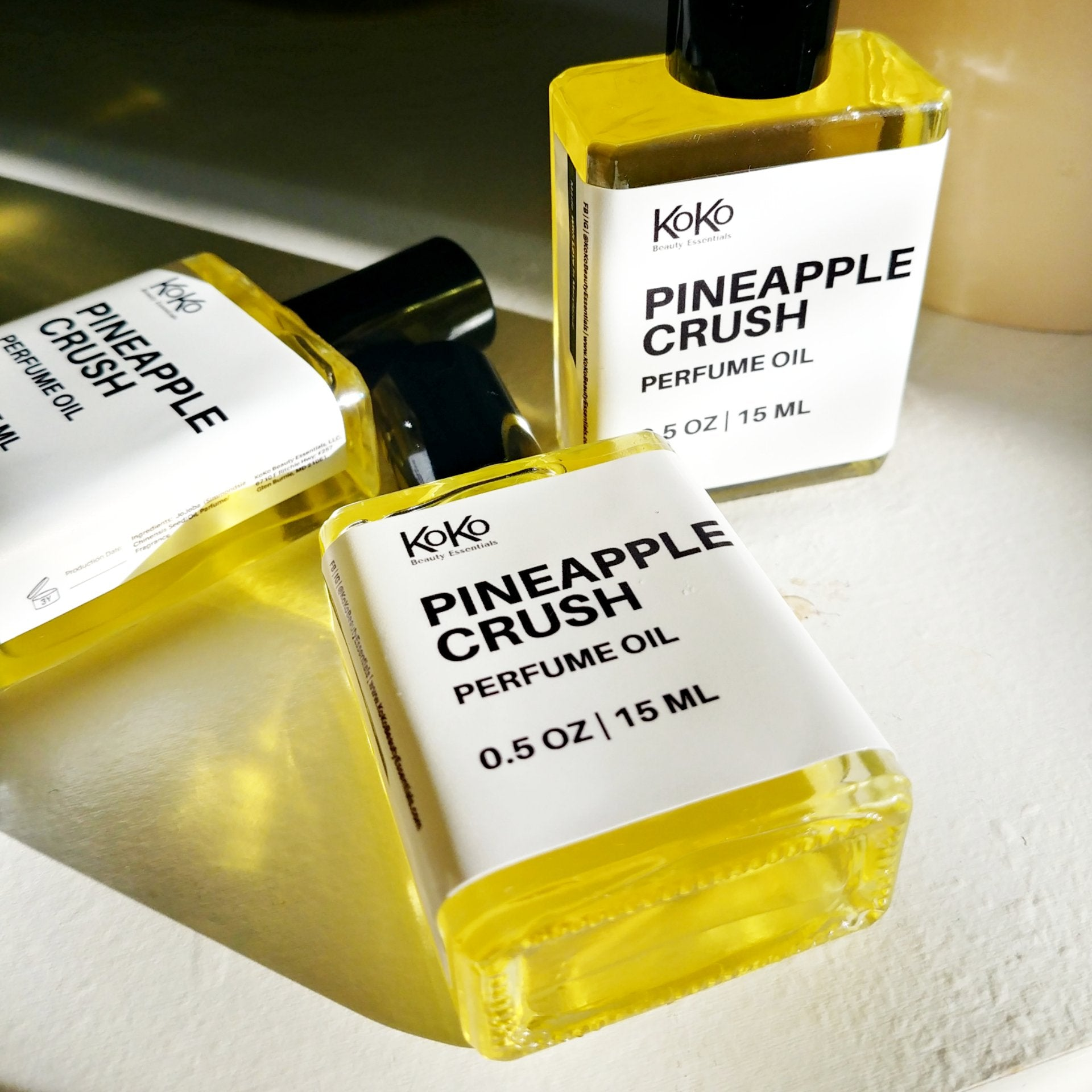 Pineapple Crush Perfume Oil - KoKoBeautyEssentials