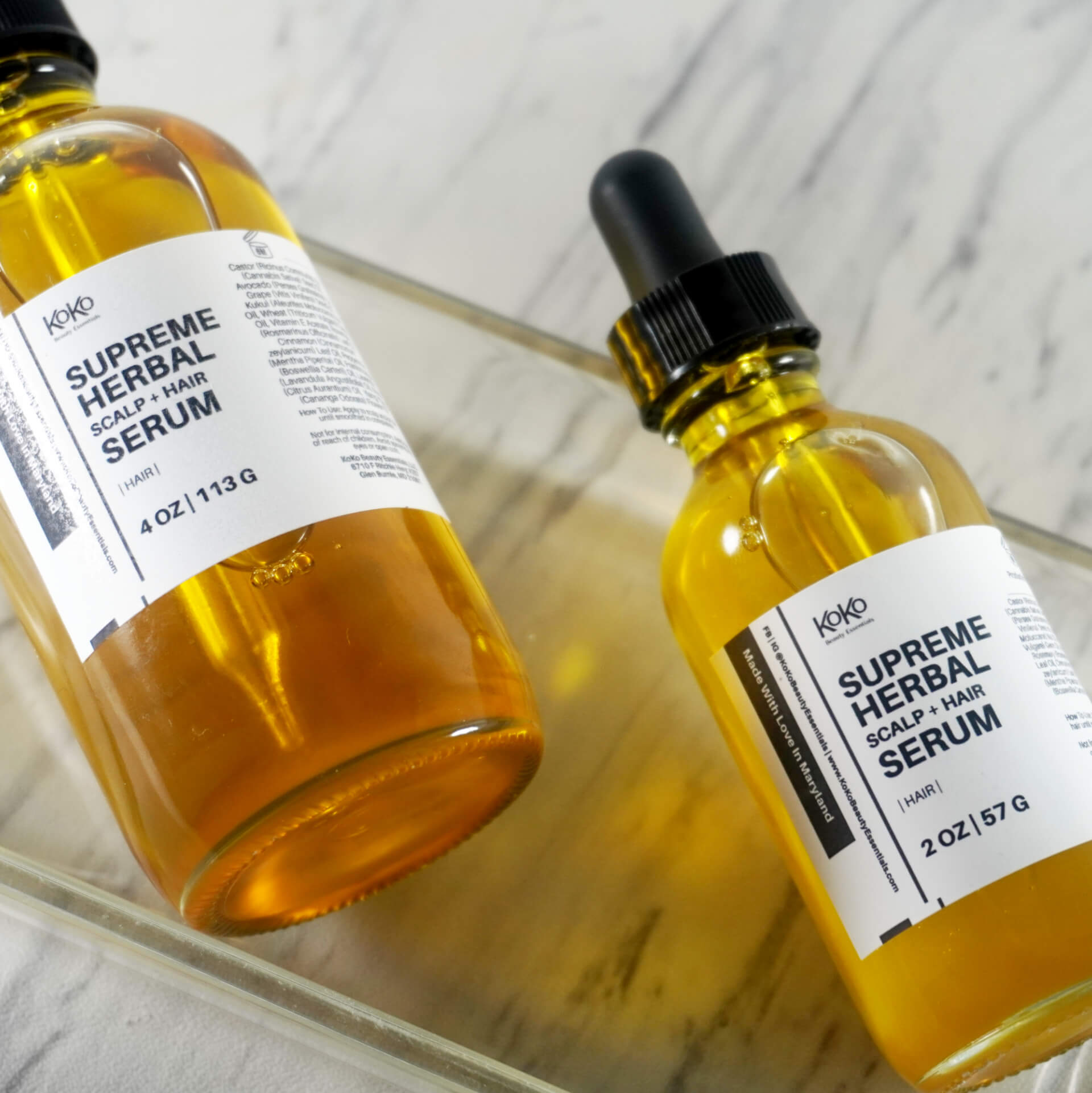 Supreme Herbal Scalp Serum