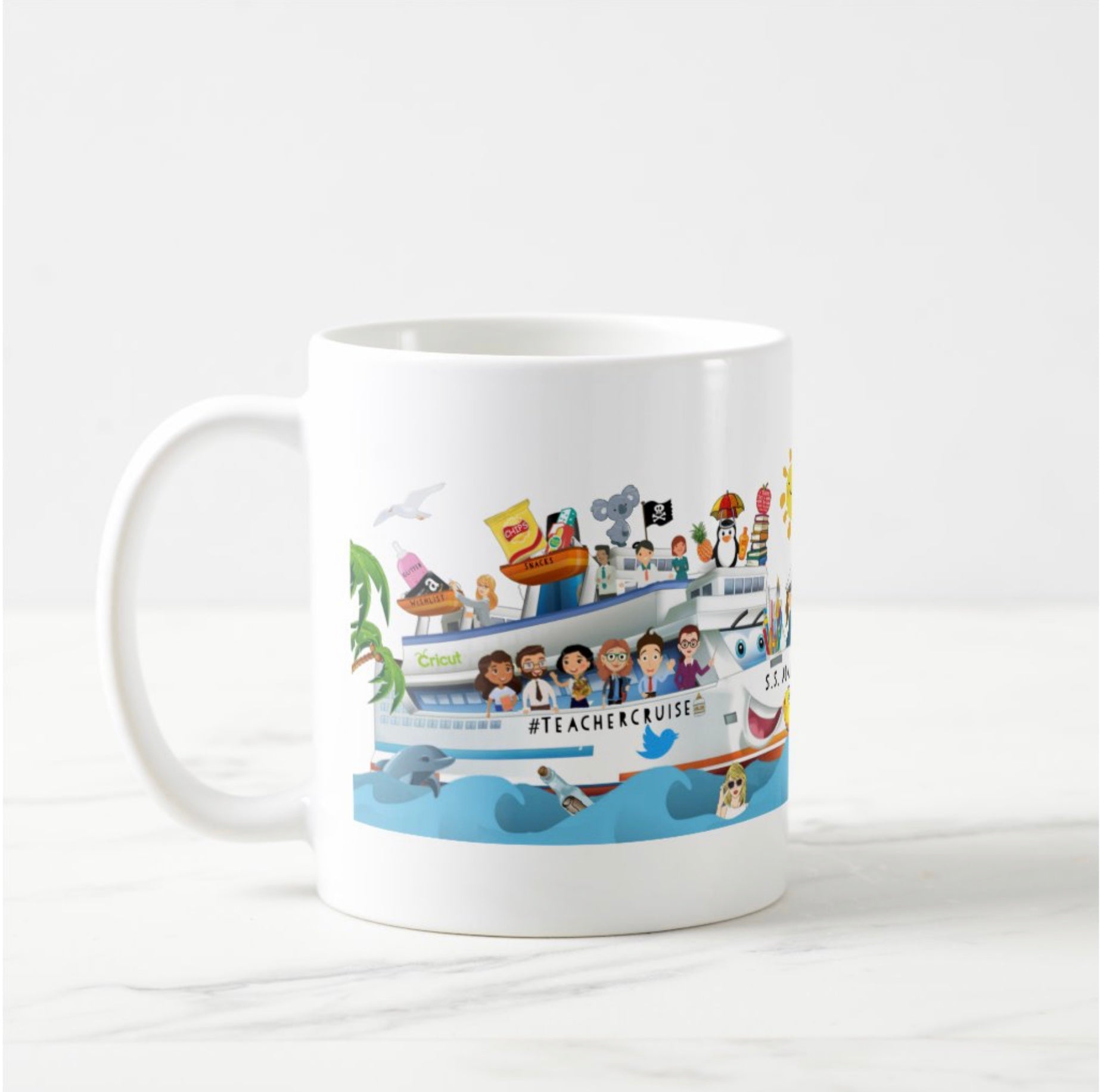 Teacher Cruise Coffee Mug