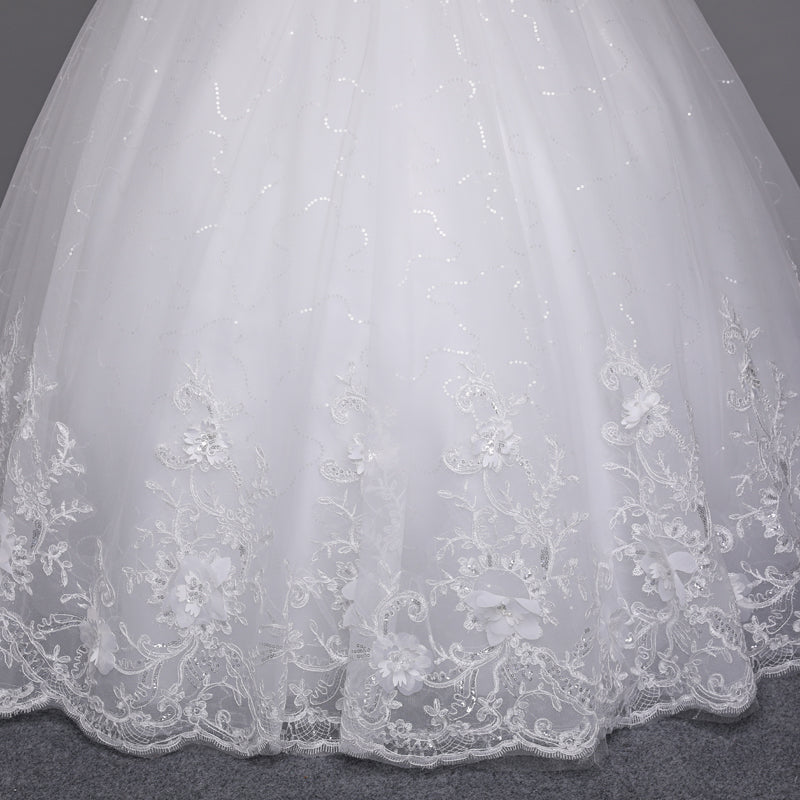 Joanne Lace Up Wedding Dress