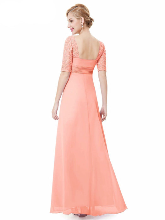 Kristina Simple Bridesmaid Gown