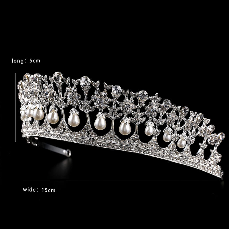Rhinestone Crystal Hair Crown