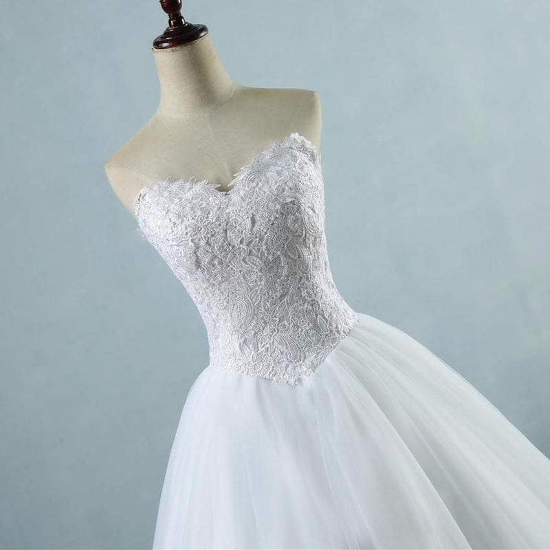 Sharmaine Lace Up Back Bridal Gown