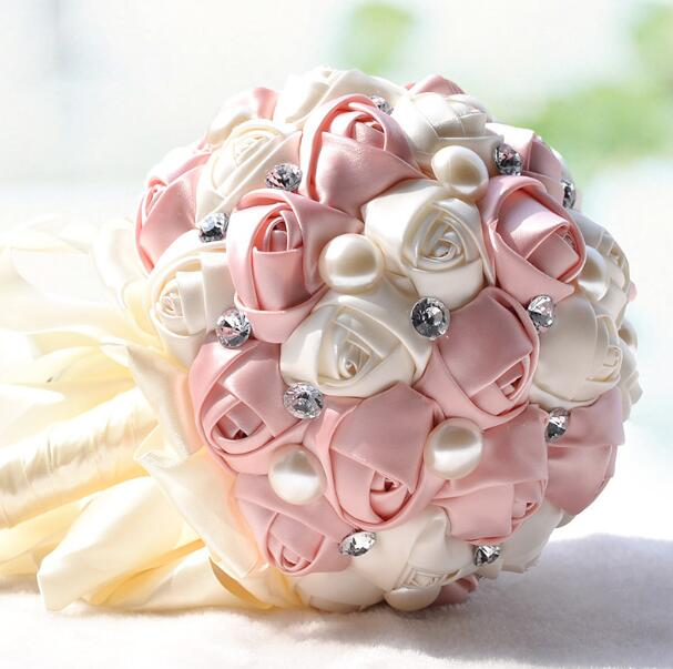 Silk Flower Bridal Bouquet
