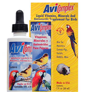 Liquid MultiVitamins for birds