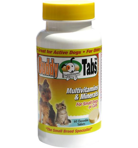 Vitamins & Minerals for Small dogs- chewable tablet