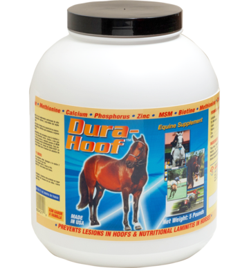 Healthy Hoof growth in horses- supplement