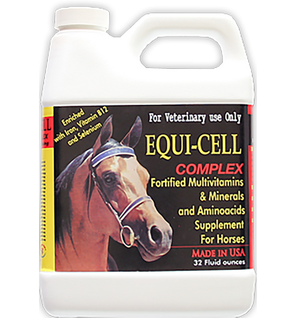 Blend of vitamins and minerals for horses