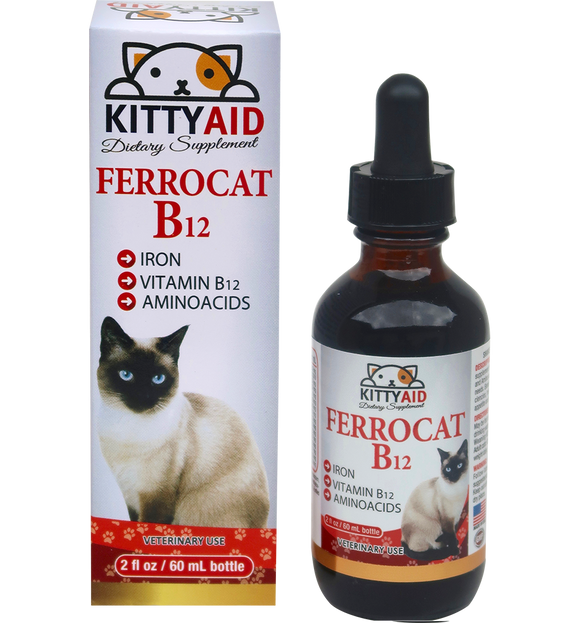 Liquid Iron plus vitamins for cats- appetite stimulant