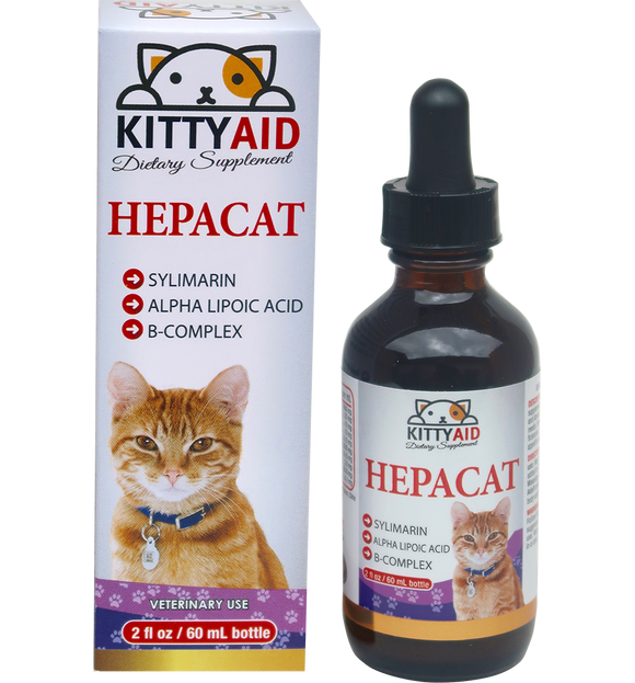 MILK THISTLE -Liquid Vitamin-  for Liver Health in Cats
