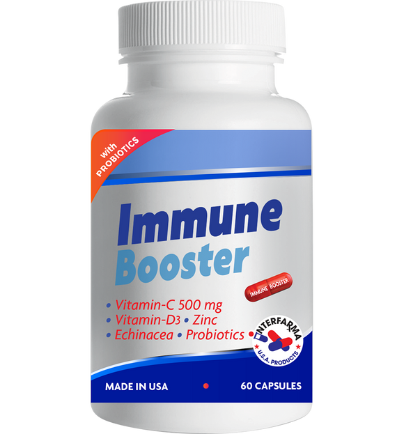 Immune Booster Supplement 60 Capsules
