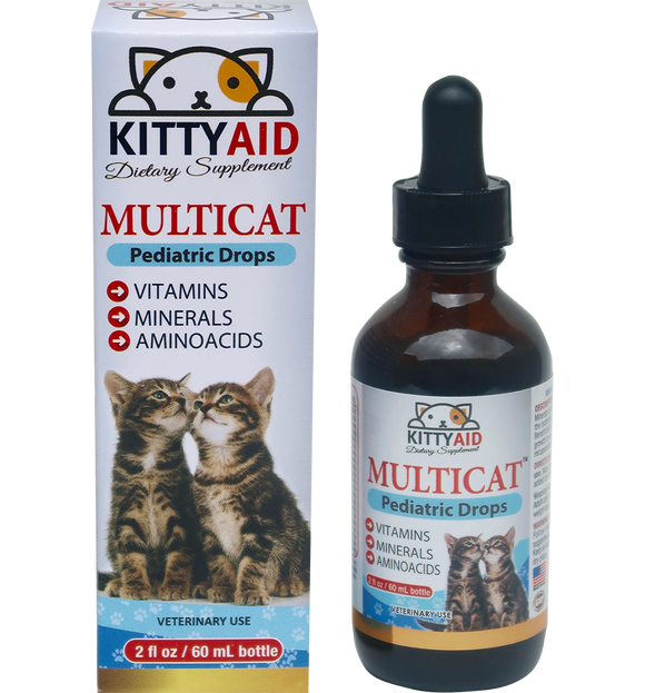 Liquid Vitamins for Kittens & Cats