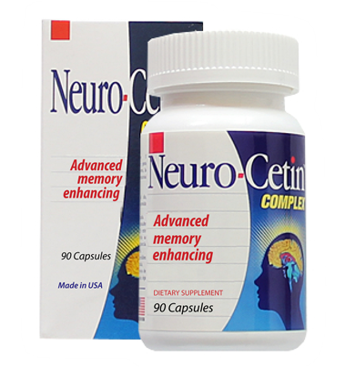 Nootropic Memory boost supplement-Neurocetin Complex