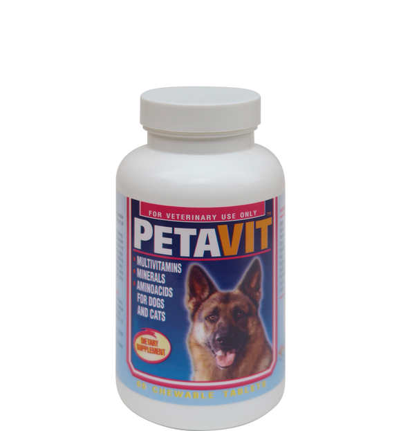 Dog Vitamin & Supplement- Chewable Tablets