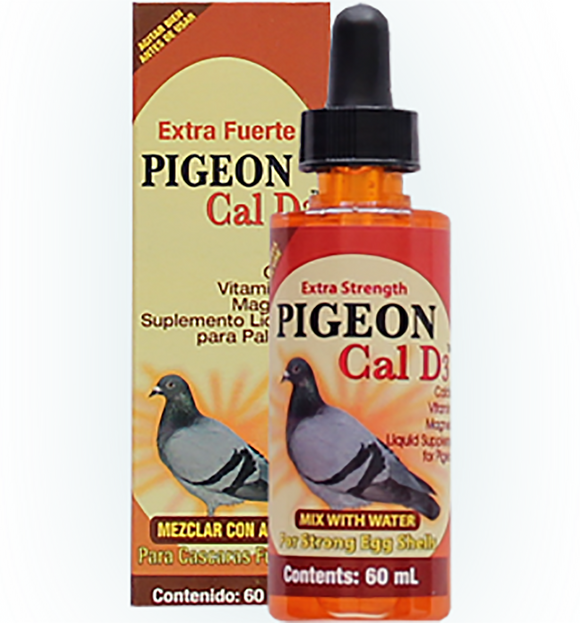 Liquid Calcium with Vitamin D3 for Pigeons