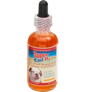 Super Cal D3 for puppies, kittens & small dog breeds