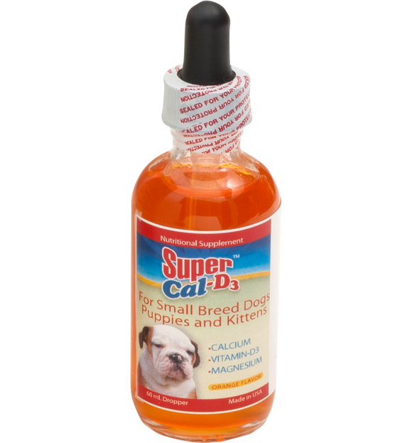 Liquid Calcium Supplement for dogs - Super Cal D3