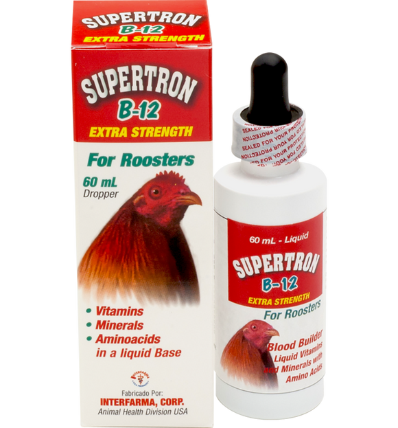 Supertron B12 for roosters