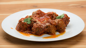 Meatballs with Tomato Sauce  - cost per single serving