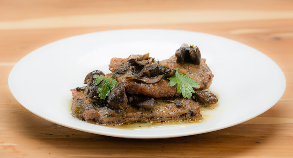 Veal a la Marsala - cost per single serving