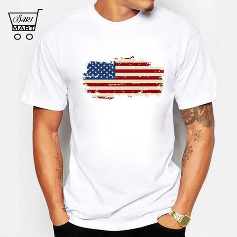 Best Plus Size 4th of july shirts, Best Quality America USA Independence Day Online Sale Flag T-shirts 2018 - Show your love and loyalty with USA Flag T-shirts. USA Flag T-shirts made from cotton which provides ultra-soft feature and let you feel comfortable – SartMart