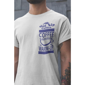 Coffee is My Warm-up Drifit Shirt - SartMart