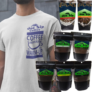 Joe Sip Coffee with FREE Drifit shirt promo - promo