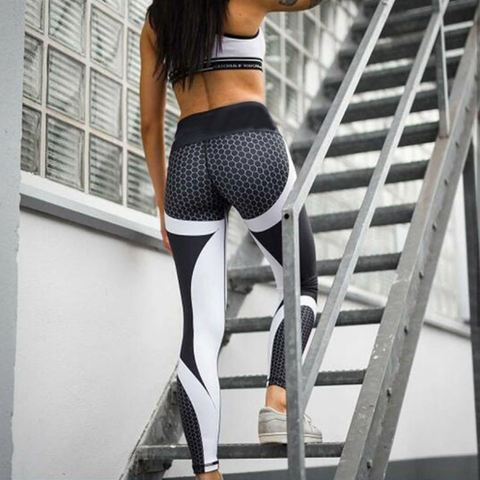 Details, Information of 2018 New Cheap Best Trending Mesh Pattern Printed Leggings, Pants, Tights, Trousers of Sports, Gym, Outdoors, Workout, Exercising, Training, Yoga, Fitness for Woman, Women, Girls, Teenagers - Soft material of Mesh Pattern Print Leggings let you feel the comfort, and elasticity feature provides you flexibility while exercising. Moreover, a slim and hot design of Mesh Pattern Print Leggings will make you more attractive. Everyone's eyes will be on you! - SartMart
