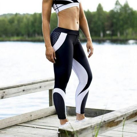 Details, Information of 2018 New Cheap Best High Quality Breathable Quick Dry Mesh Pattern Printed Leggings, Pants, Tights, Trousers of Sports, Gym, Outdoors, Workout, Exercising, Training, Yoga, Fitness for Woman, Women, Girls, Teenagers - Soft material of Mesh Pattern Print Leggings let you feel the comfort, and elasticity feature provides you flexibility while exercising. Moreover, a slim and hot design of Mesh Pattern Print Leggings will make you more attractive. Everyone's eyes will be on you! - SartMart