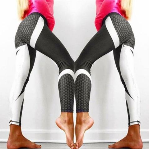 Details, Information of 2018 New Cheap Best Trending Elasticity Mesh Pattern Printed Leggings, Pants, Tights, Trousers of Sports, Gym, Outdoors, Workout, Exercising, Training, Yoga, Fitness for Woman, Women, Girls, Teenagers - Soft material of Mesh Pattern Print Leggings let you feel the comfort, and elasticity feature provides you flexibility while exercising. Moreover, a slim and hot design of Mesh Pattern Print Leggings will make you more attractive. Everyone's eyes will be on you! - SartMart