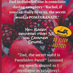 Pomegranate~The Iconic Cataplexic Escapade