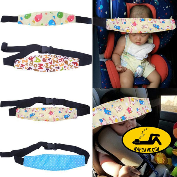 Adjustable Safety Baby Kid Car Seat Sleep Nap For Stroller Aid Head Band Support Holder Belt Stroller Accessories Car seat head impact belt