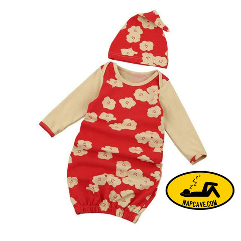 Baby Infant Pajamas Robes with Hat D / China / 6M baby AliExp Baby Infant Pajamas Robes with Hat BABY gift gifts nap nap cave