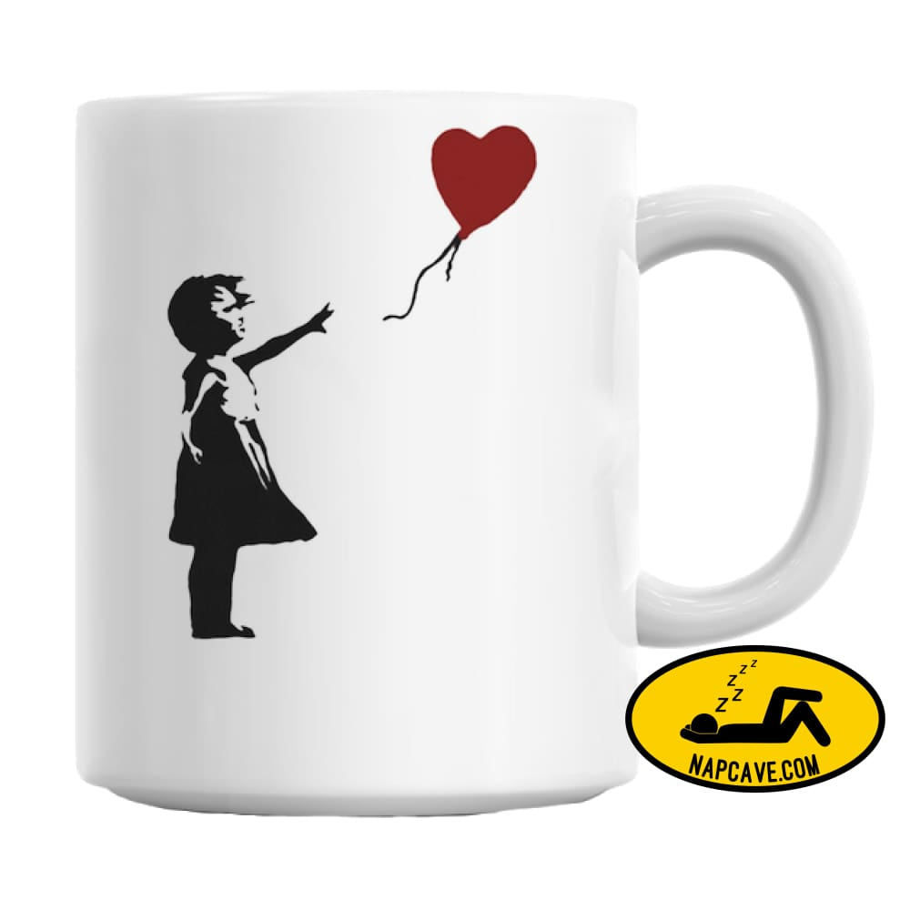 Banksy Balloon Girl Mug AliExp Banksy Balloon Girl Mug
