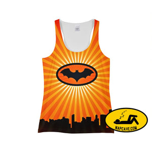 bat Womens Tank tank top The NapCave bat Womens Tank bat signal Batman Batman has Narcolepsy do sleep justice gifts for her
