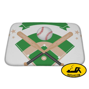 Bath Mat Baseball Banner Bath Mat Gear New Bath Mat Baseball Banner and art ball baseball baseballs
