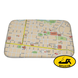 Bath Mat City Map Of Downtown San Jose Costa Rica Bath Mat Gear New Bath Mat City Map Of Downtown San Jose Costa Rica bath bathroom