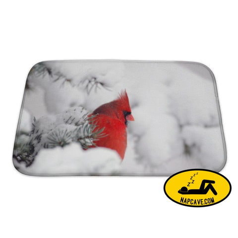 Bath Mat Northern Cardinal Perched In A Tree Bath Mat Gear New Bath Mat Northern Cardinal Perched In A Tree bath bathroom bird branch