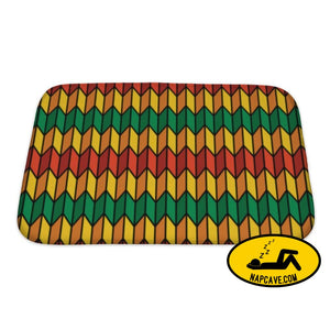 Bath Mat Pattern In Rasta Colors Bath Mat Gear New Bath Mat Pattern In Rasta Colors bath bathroom colorful decor decorative