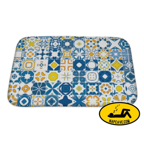 Bath Mat Portuguese Tiles Bath Mat Gear New Bath Mat Portuguese Tiles arabesque bath bathroom blue decorative