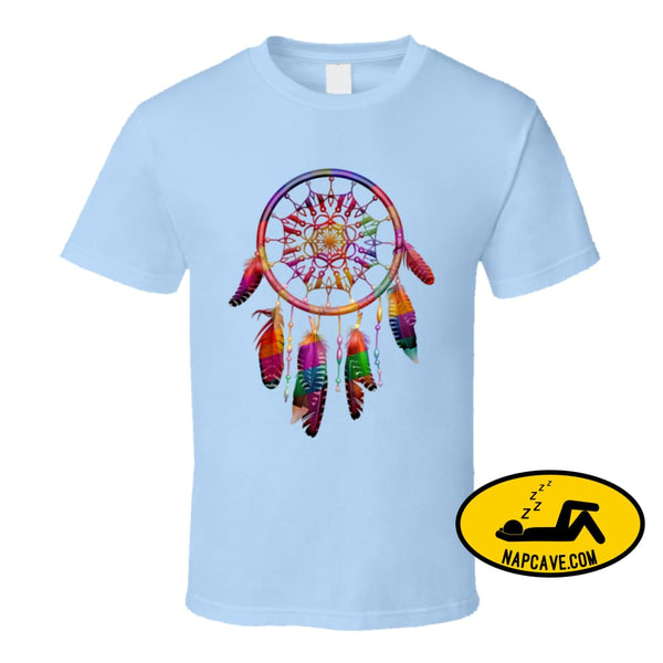 Be The Dreamcatcher T Shirt Classic / Light Blue / Small T-Shirt Tshirtgang Be The Dreamcatcher T Shirt be dreamcatcher various