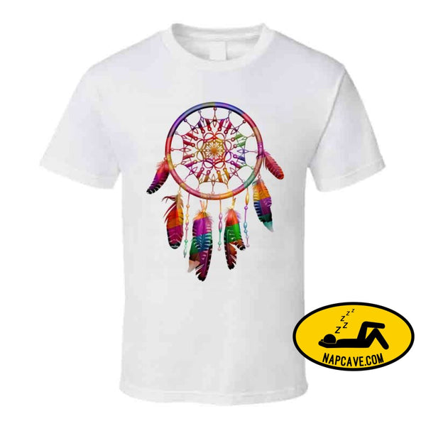 Be The Dreamcatcher T Shirt Classic / White / Small T-Shirt Tshirtgang Be The Dreamcatcher T Shirt be dreamcatcher various