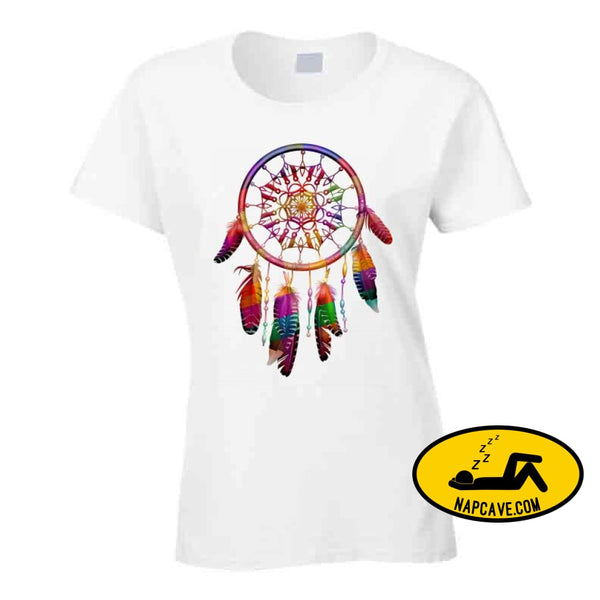 Be The Dreamcatcher T Shirt Ladies / White / Small T-Shirt Tshirtgang Be The Dreamcatcher T Shirt be dreamcatcher various