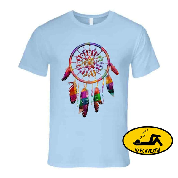Be The Dreamcatcher T Shirt Premium / Light Blue / Small T-Shirt Tshirtgang Be The Dreamcatcher T Shirt be dreamcatcher various
