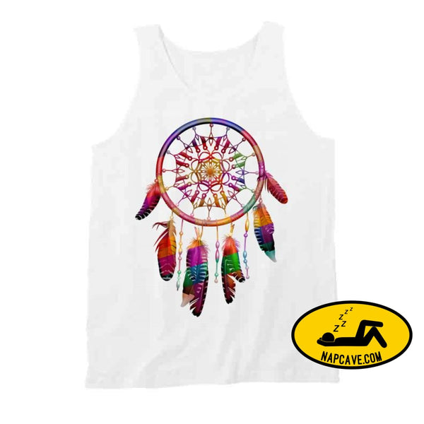 Be The Dreamcatcher T Shirt Tanktop / White / Small T-Shirt Tshirtgang Be The Dreamcatcher T Shirt be dreamcatcher various