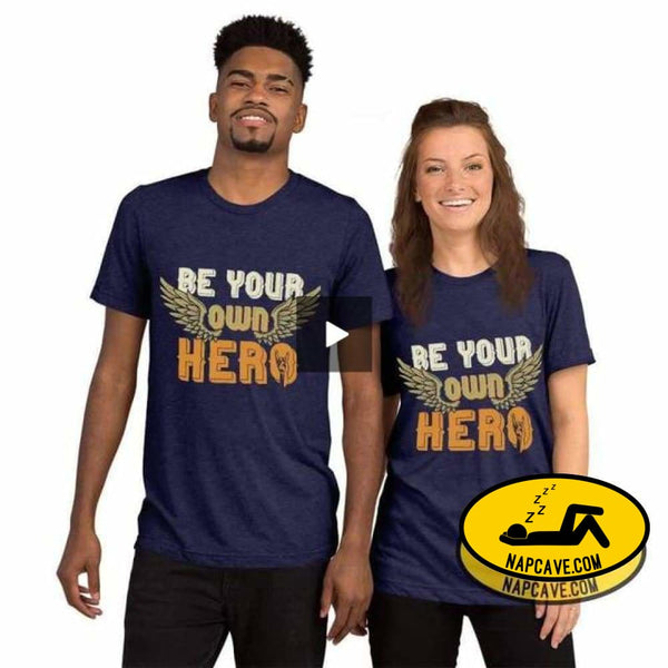 Be Your Own Hero Short sleeve t-shirt SHIRT The NapCave Be Your Own Hero Short sleeve t-shirt Be You be your own hero chronic illness warior