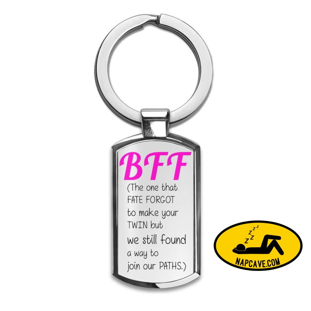 Bff The One That Faith Forgot Premium Stainless Steel Key Ring| Enjoy A Unique & Personalized Key Hanger To Carry Your keysBy Styleart Aliex
