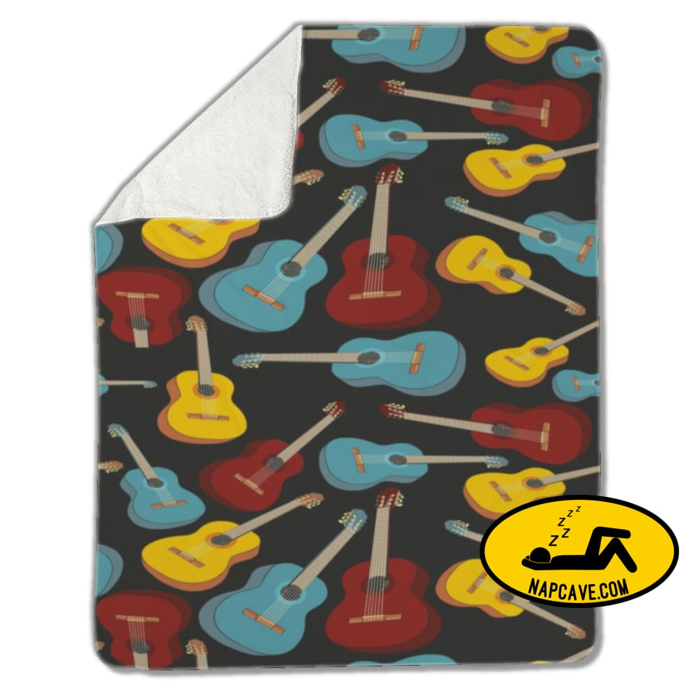 Blanket Guitars Blankets US Drop Ship Blanket Guitars blanket cover fleece sherpa
