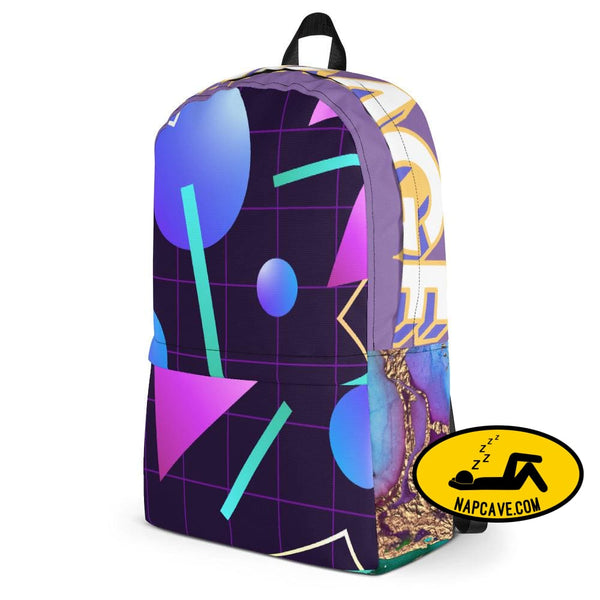 Blast from the Past 1980s Nostalgia Backpack The NapCave Blast from the Past 1980s Nostalgia Backpack accessories backpack bag Camping gear